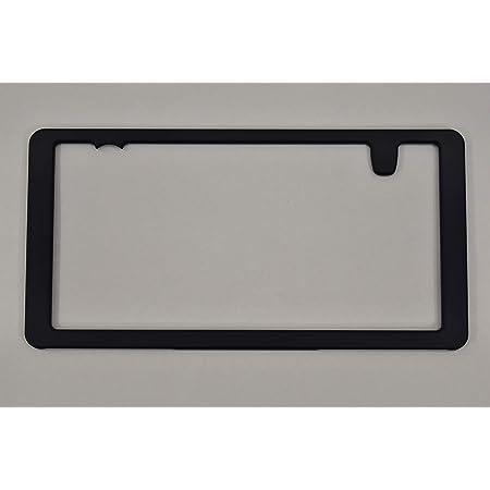 どうにも出来ないナンバープレートを25%小さく「ナンバー・スモーラーII (BASE KIT※塗装前の状態・後ろ用)平成28年改正新基準適合。新発想のナンバーフレーム。車検対応・意匠登録届け出済