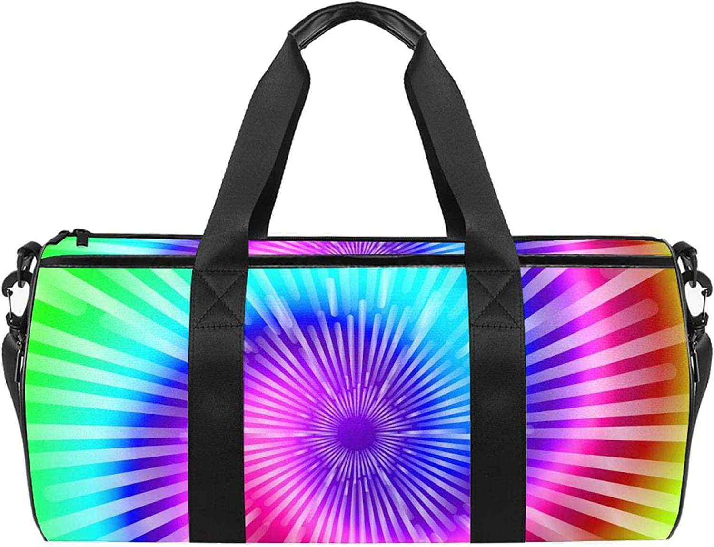 MUOOUM Tie Dye Colors Sports Gym Travel 4 years warranty Duffel Bag for Women Max 77% OFF