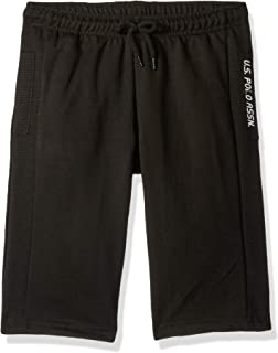 U.S. Polo Assn. Boys French Terry Pull-on Short Shorts