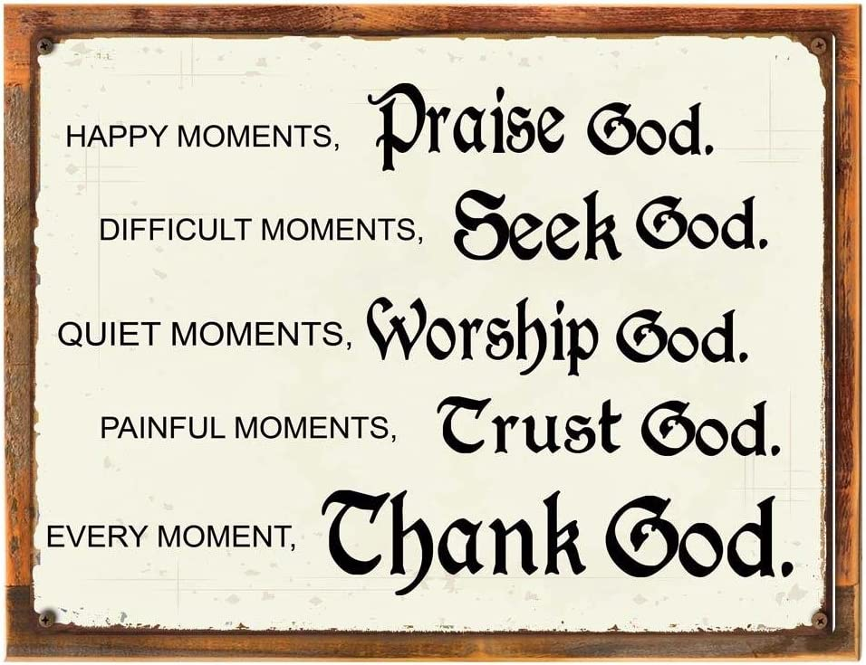 Wood-Framed Albuquerque Mall Moments Sales for sale with God Sign Christian Inspirationa Metal