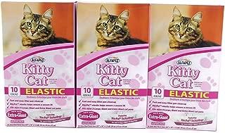 Alfapet Kitty Cat Extra-giant Elastic Sta-put Litter Box Liners 10 Per Box (3...