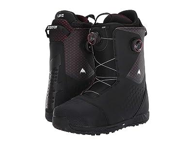 Burton Ion Boa(r) Snowboard Boot (Black/Red) Men