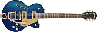 GRETSCH エレキギター G5655TG Electromatic® Center Block Jr. Single-Cut with Bigsby® and Gold Hardware, Laurel Fingerboard, Azure...
