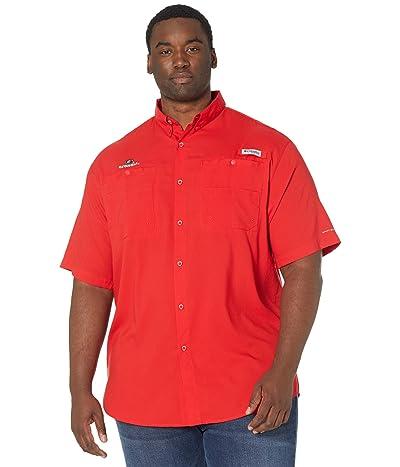 Columbia College Big Tall Georgia Bulldogs Tamiami Short Sleeve Shirt