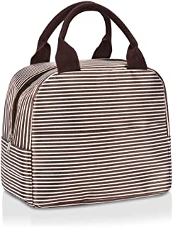 Lunch Tote, lunch bag, Portable Lunch Box for Woman,Teen Lunch Bag, Easy to Carry to School, Office, Picnic Food Organizer