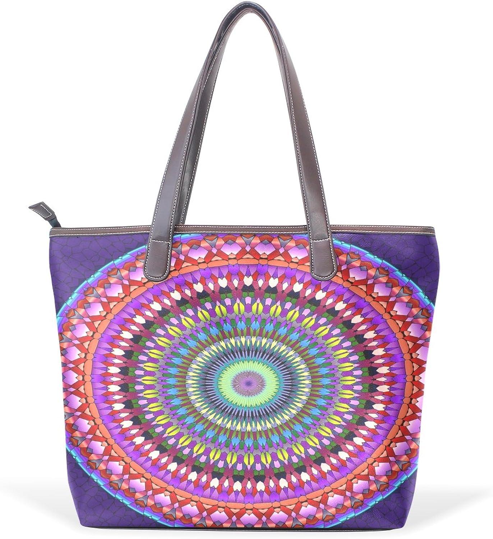 TIZORAX , Damen Tote-Tasche mehrfarbig mehrfarbig mehrfarbig B07FTB77H9  Einzigartig be639a
