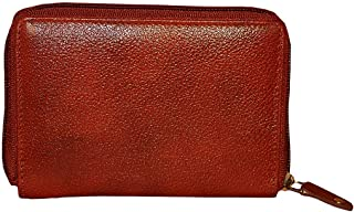 Style98 Premium Leather Pocket Wallet,Card Holders for Men & Women -Bombay Brown - Small