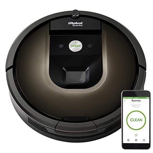 iRobot Roomba 980 Robot Vacuum with Wi-Fi Connectivity, Works with Alexa, Ideal