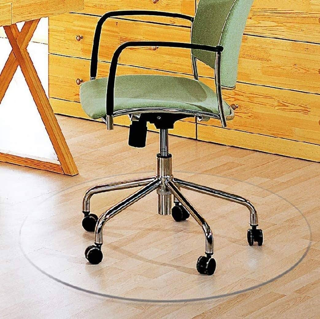 Max 63% OFF Chihen Clear Chair Mat Office High material Floors Heav for Hardwood