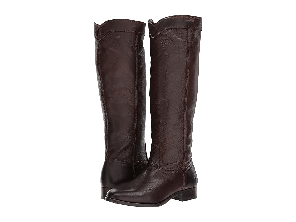 Frye Cara Roper Mid (Chocolate) Women