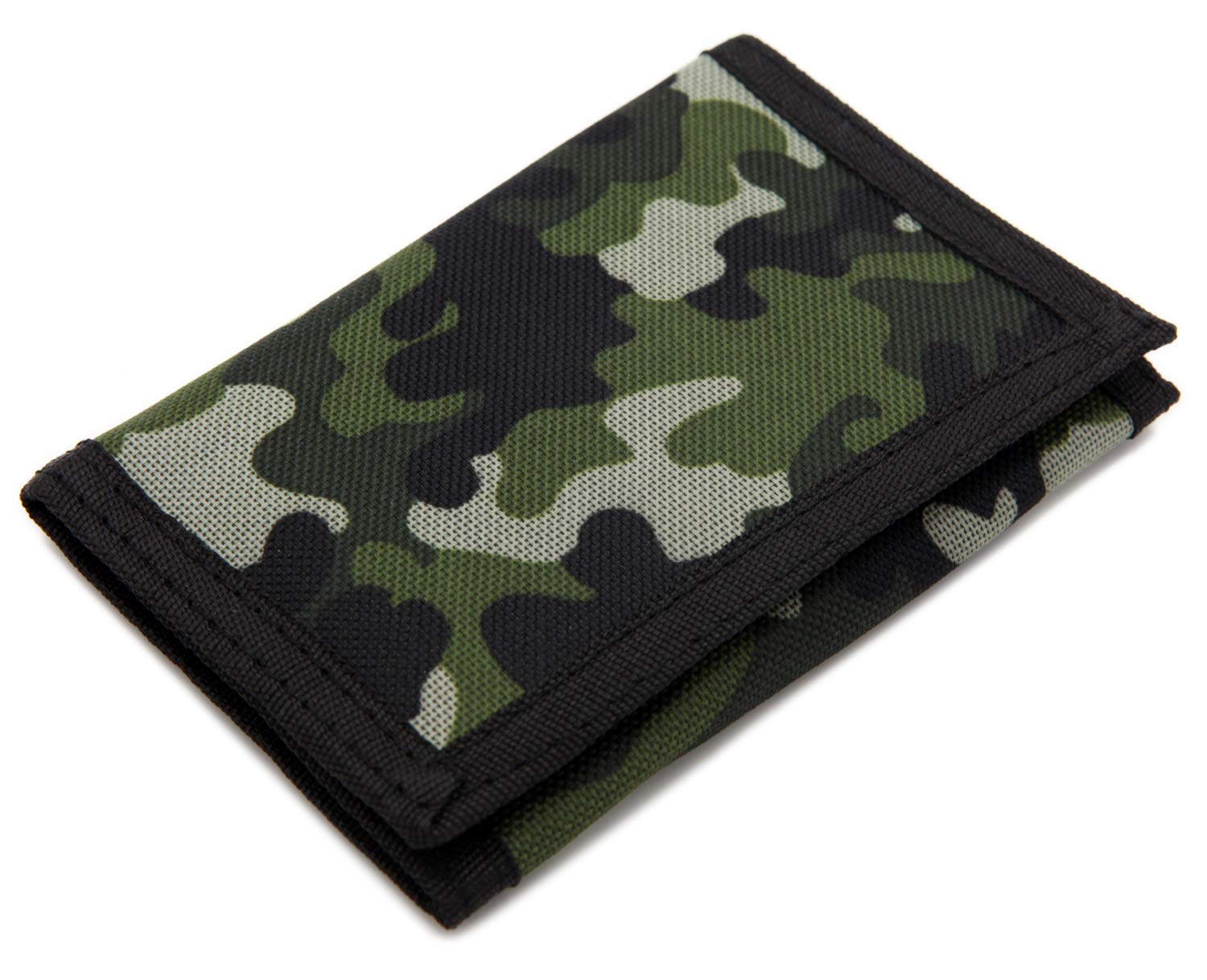 RFID Slim Camouflage Wallet//Trifold Canvas Outdoor Sports Wallet for Kids...
