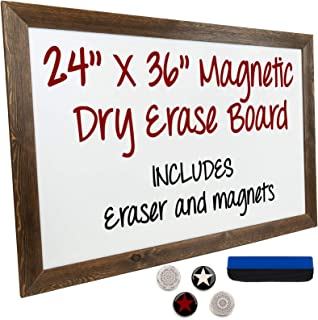 Best dry erase board with wood frame Reviews