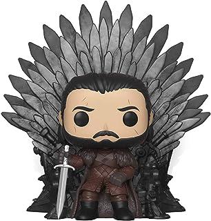 Funko Pop! De lujo: Juego de Tronos – Jon Snow sentado en hierro trono