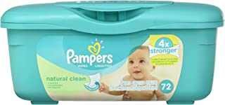 Pampers Soft Care Wipes,  Unscented,  Aloe,  72 ct.