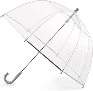 Kid's Bubble Umbrella with Easy Grip Handle, Clear