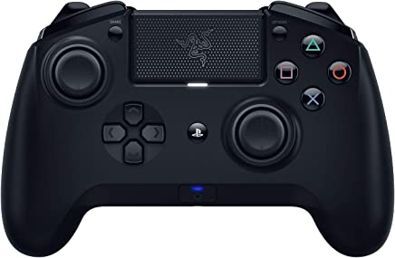$97 Get Razer Raiju Tournament Edition Without the1.04 Firmware Gaming Controller Bluetooth & Wired Connection (PS4 PC USB Controller with Four Programmable Buttons, Ergonomics Optimized for Esports)
