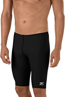 Speedo International Men's Endurance+ Polyester Solid Jammer Swimsuit