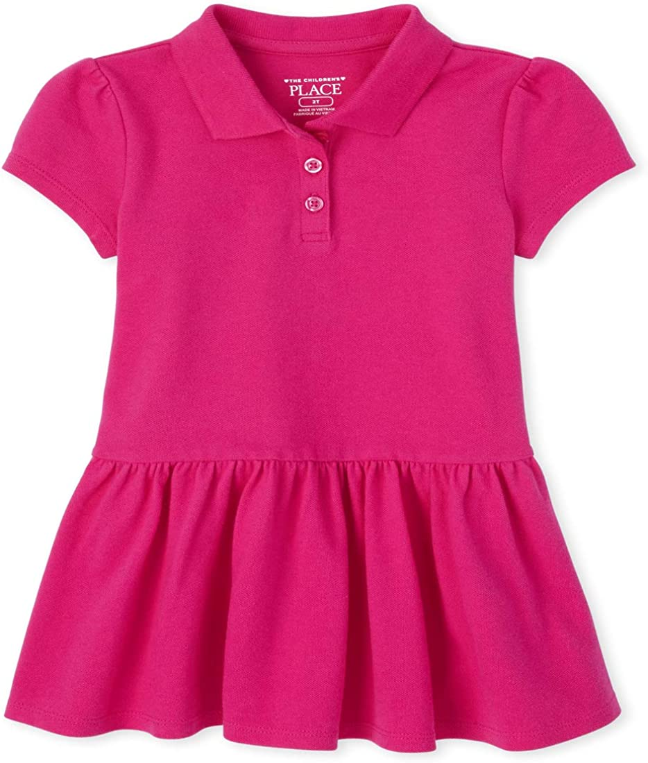 The Childrens Place Girls Belted Uniform Jumper