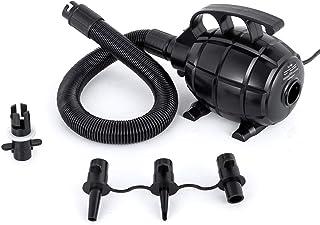 Husuper Bomba Electrica para Inflar Colchones 1.5kg Bomba de Aire Eléctrica 16.5x11.4x12.7cm Hinchador Electrico Inflador ...
