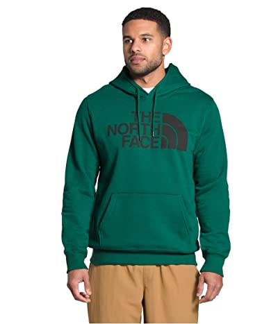 The North Face Half Dome Pullover Hoodie (Evergreen/TNF Black) Men