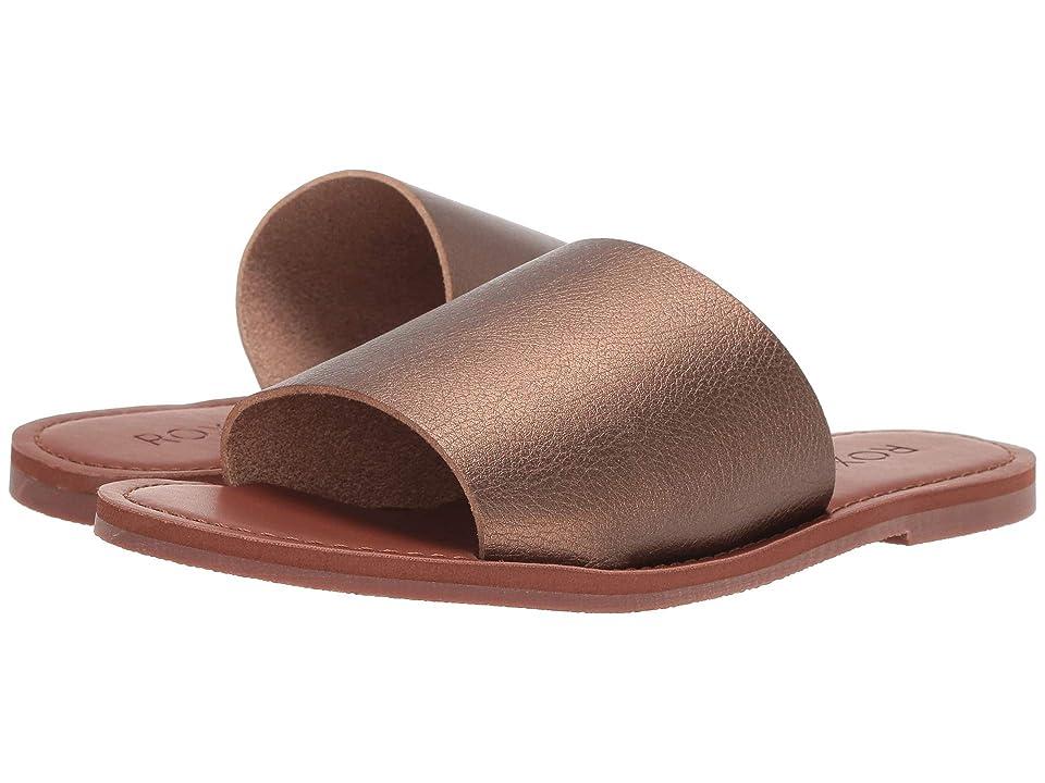 Roxy Kaia (Bronze) Women's Sandals