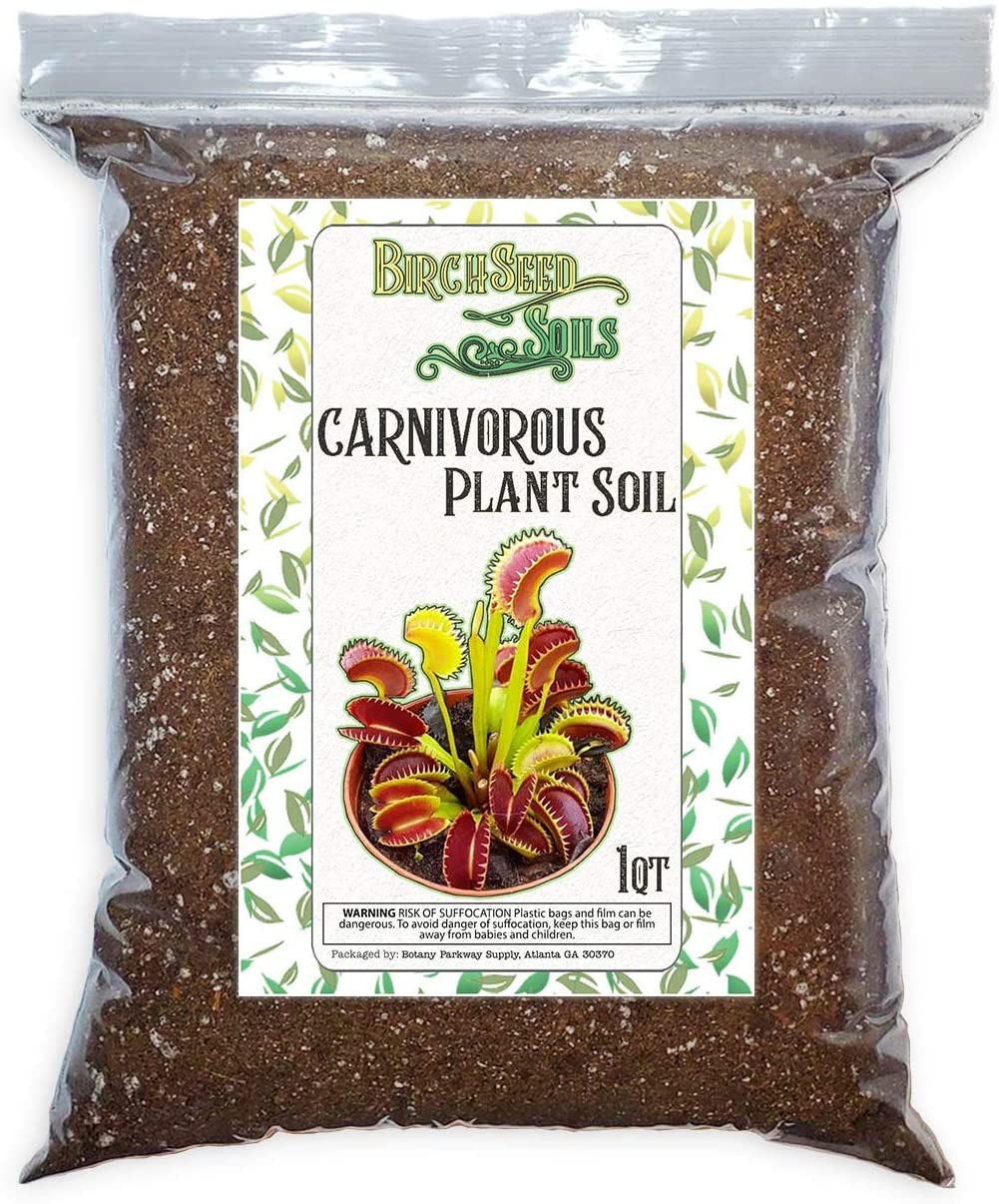 Carnivorous Product Plant Soil Mix All Natural for Fly Tra Perfect Venus free
