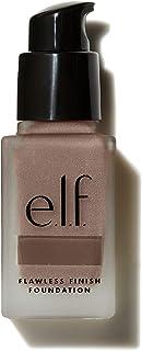 e.l.f. Flawless Finish Foundation, Lightweight & Medium Coverage, Semi-Matte Finish, Chestnut, 0.68 Fl Oz (20mL)