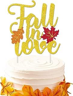 Best autumn wedding cake decorations Reviews