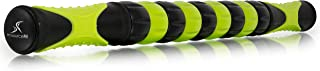 """ProSource Massage Stick Roller, 18"""" Handheld, Portable Self-Myofascial Release Tool for Relief from Muscle Pain/Cramps in Calves, Shins, Thighs and Back"""