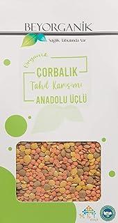 Beyorganik ***Çorbalık Tahıl Karışımı(Anadolu-Üçlü-Mercimek),400 Gr