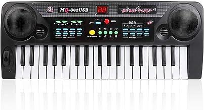 Shayson Kids Piano Keyboard, 37-Key Keyboard Piano with MP3
