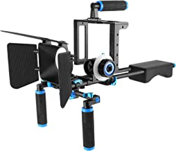 Neewer Aluminum Film Movie Kit System Rig for Canon/Nikon/Pentax/Sony and other DSLR..