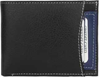 K London Men's Wallet Black & Blue-1420_Blue