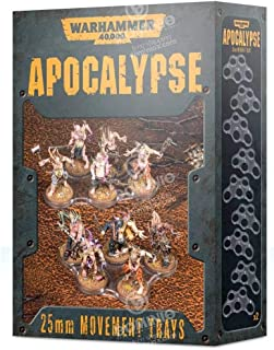 Warhammer 40K: Apocalypse Movement Trays (25mm)
