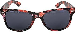d236a56f3b Foster Grant SPVL15718 FG114 Gafas de sol estilo retro para mujer, negro y  rojo Plástico