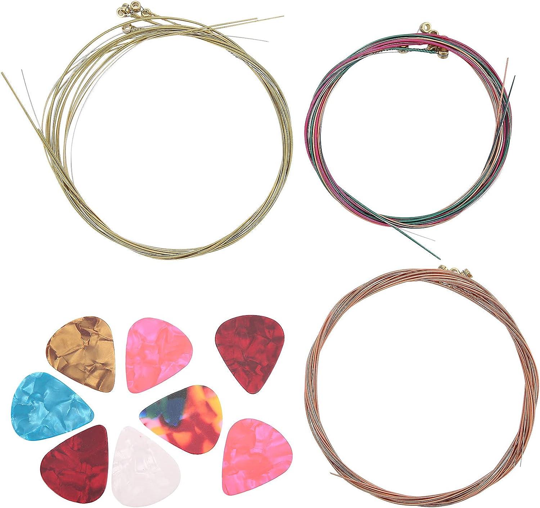 Cuerda de guitarra, púa de guitarra flexible para guitarras eléctricas para principiantes para guitarras folclóricas