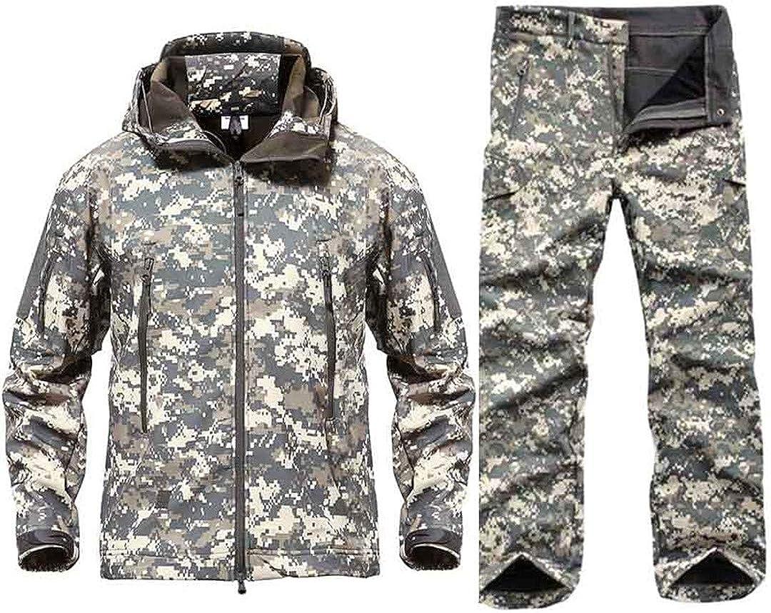 Pant Camouflage Paintball Combat Suit Airsoft Uniform Sets-Jacket