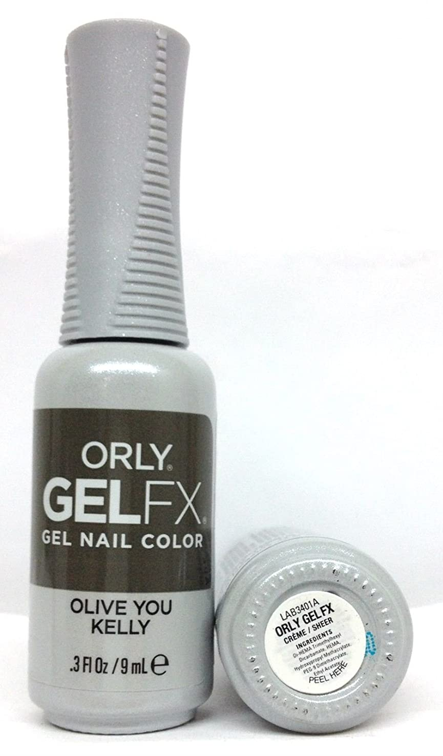 四面体まあ封筒ORLY GelFX - The New Neutral Collection - Olive You Kelly - 9 ml / 0.3 oz