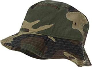 Bandana.com 100% Cotton Bucket Hat for Men, Women, Kids - Summer Cap Fishing Hat