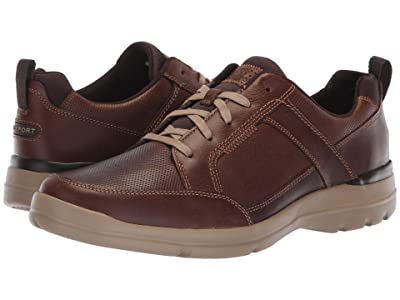 Rockport City Edge Lace-Up (Boston Tan Leather) Men