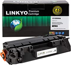 LINKYO Compatible Toner Cartridge Replacement for HP 05A CE505A (Black)