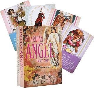 Guardian Angel Tarot Cards A 78カードデッキのオラクルタロットカードテーブルボードゲーム占い用プレイカードエンターテインメントゲーム