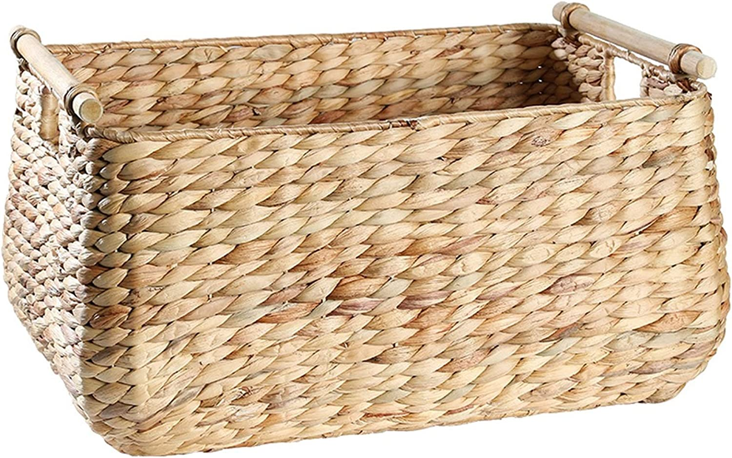 Super-cheap lxm Hand-Woven Max 83% OFF Square Large-Capacity Clothes Dirty Multi Basket