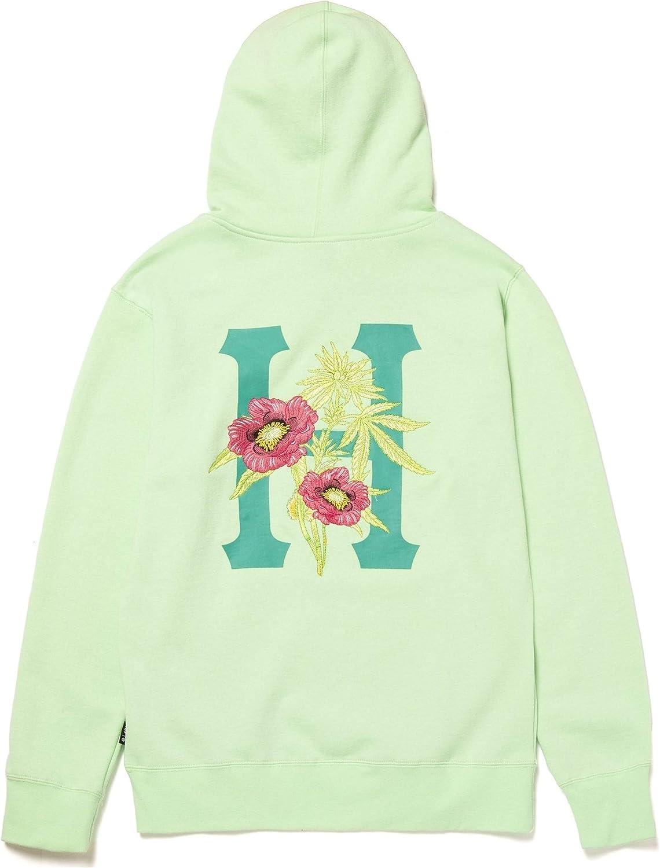 Sweat hood planta HUF Neo mint