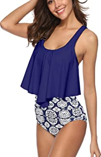 SouqFone Swimsuits for Women Two Piece Bathing Suits...