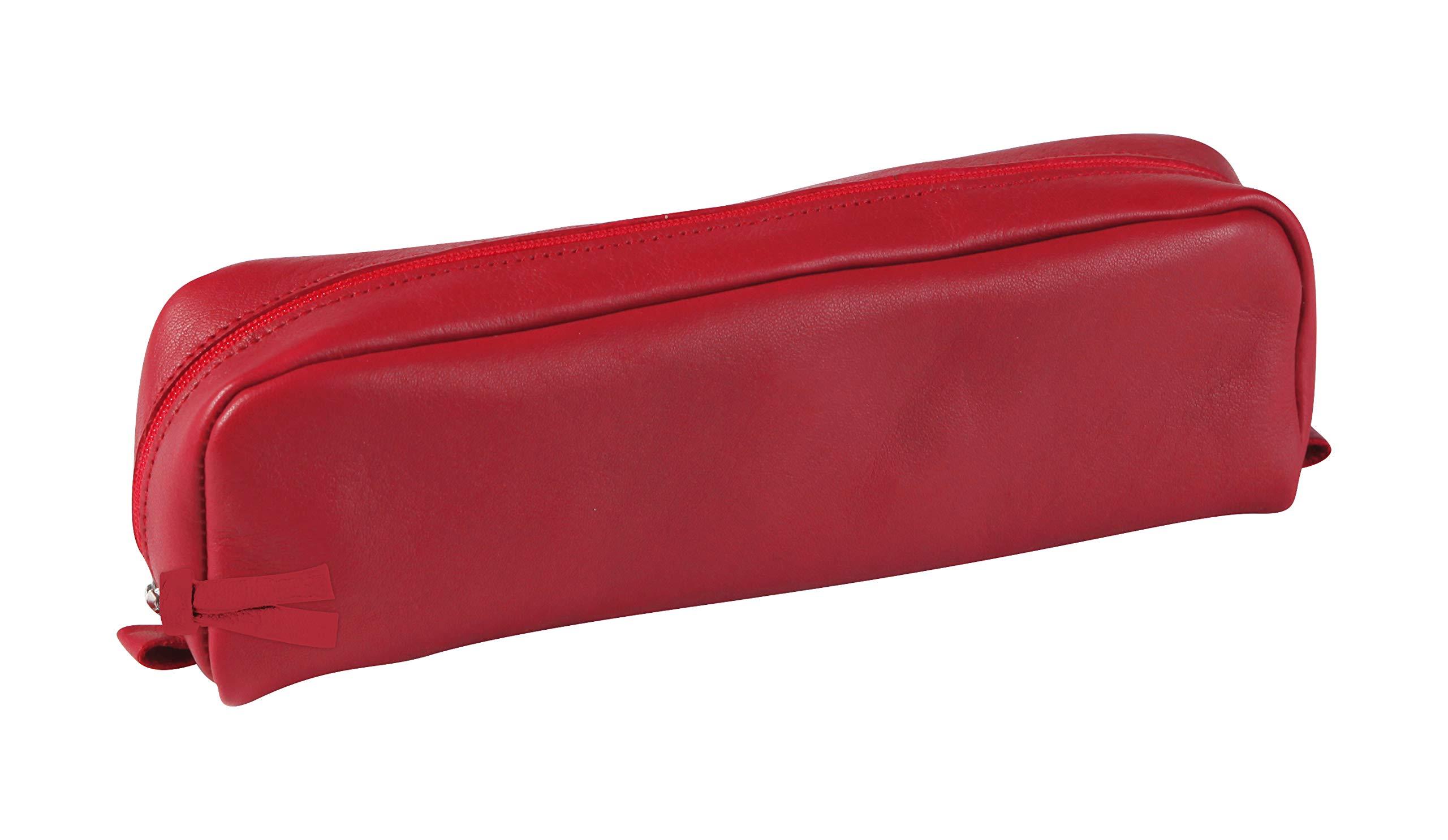 Clairefontaine - Estuche (20,50 x 4 x 6 cm), color rojo: C Rhodia: Amazon.es: Oficina y papelería