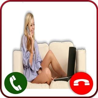 Girlfriend Video Live - Caller Id phone