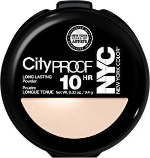 N.Y.C. New York Color Smooth Skin Pressed Face Powder, Naturally Beige, 0.33 Ounce