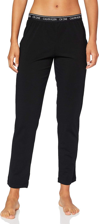 Calvin Klein Sleep Pant Pantalones de Pijama para Mujer