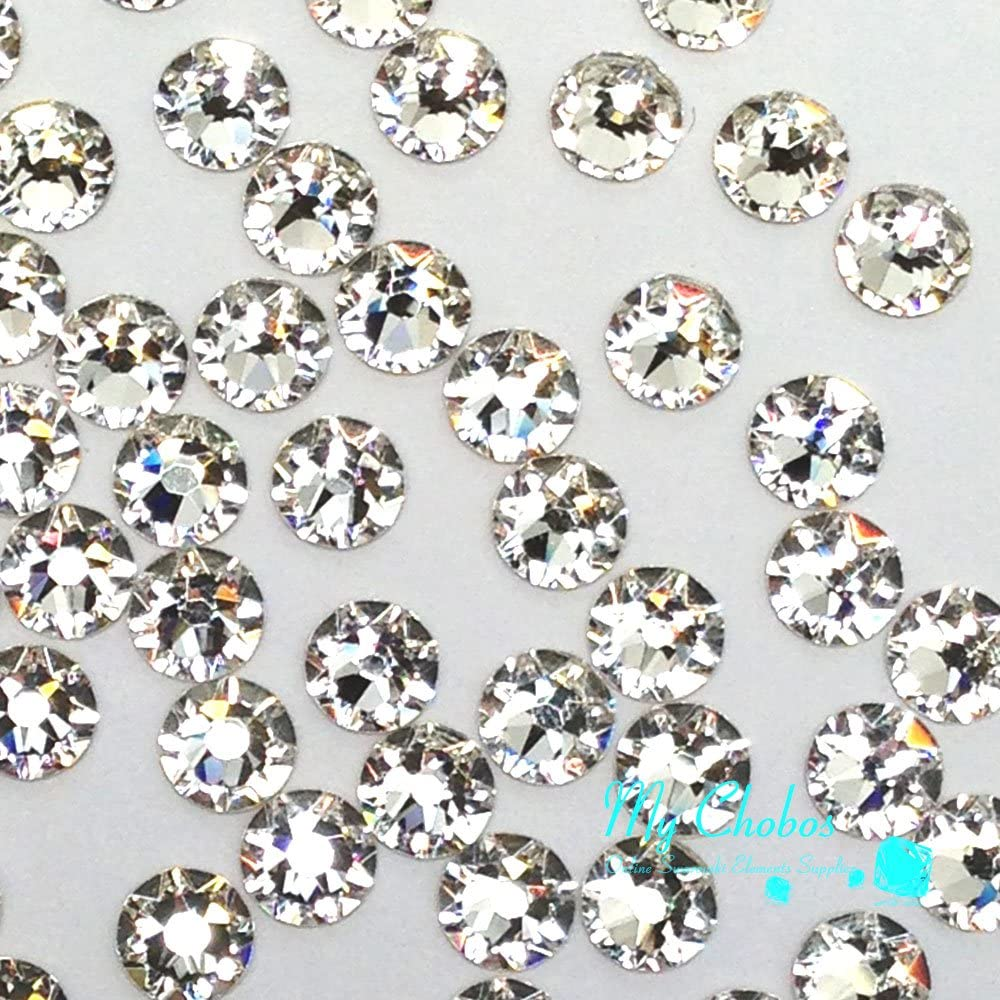 Amazon.com: 720 pcs Crystal (001) clear Swarovski NEW 2088 Xirius ...